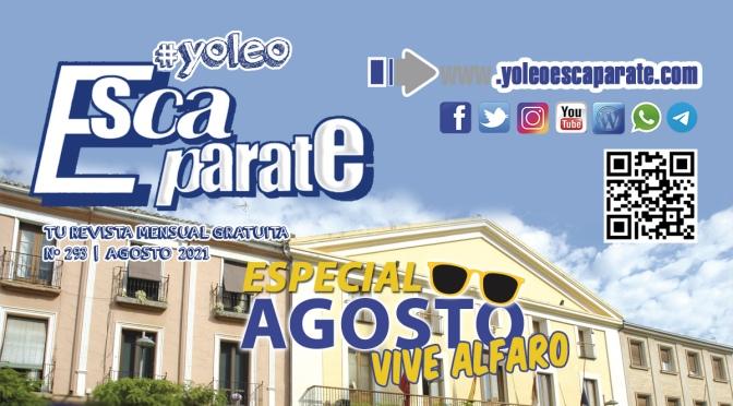 📰 Escaparate Alfaro Agosto 🔵  VIVE ALFARO | INTERACTIVA 🆕