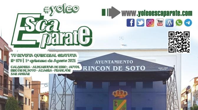 Ya está aquí Escaparate 1ª Quincena de Agosto, especial Rincón de Soto