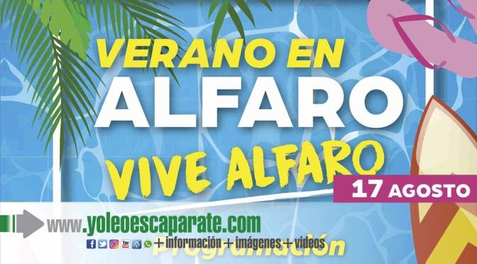 Actos de hoy martes del programa Vive el verano, vive Alfaro