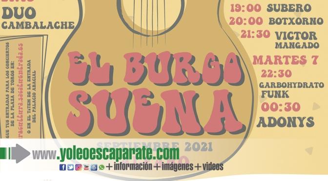 Mañana comienza El Burgo suena en Alfaro