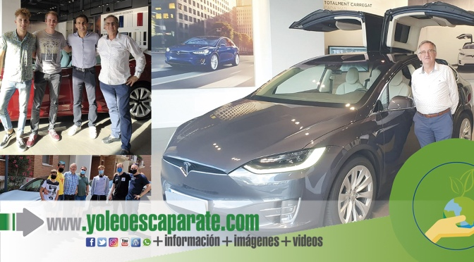 Concentración de vehículos eléctricos en Alfaro