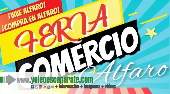 La Feria de comercio local al aire libre este domingo en Alfaro, aplazada