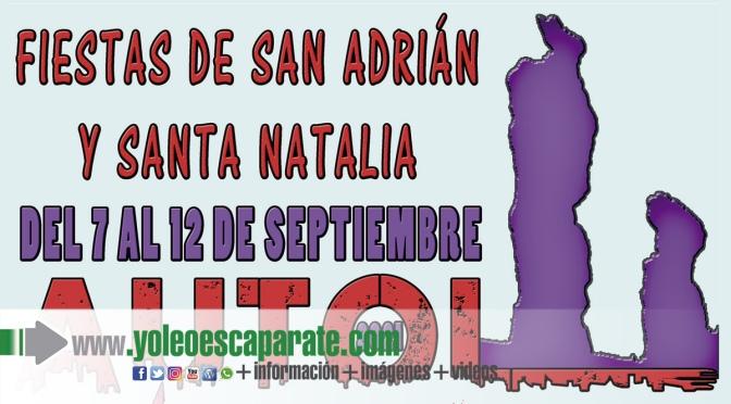 Hoy comienzan las fiestas en honor a San Adrián y Santa Natalia en Autol