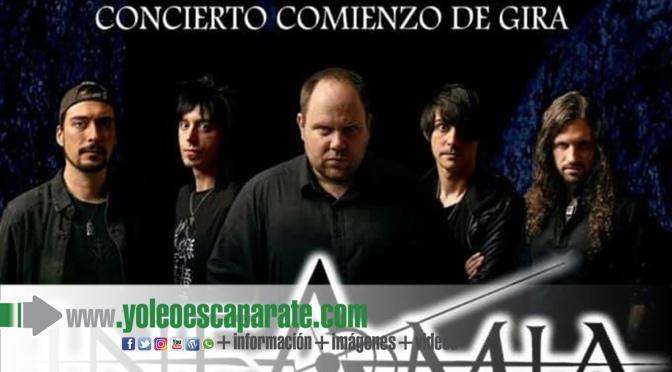 Infamia comienza en Alfaro la gira presentación de su nuevo álbum Crisálida