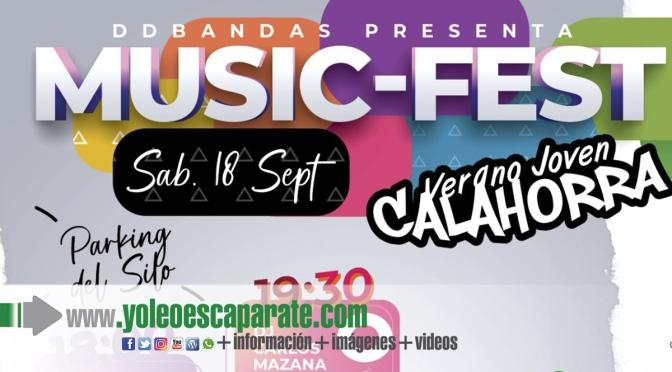 El Music-Fest será el colofón del Verano Joven en Calahorra