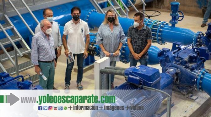 Inauguración de las obras de modernización de regadío Comunidad de Regantes La Llanada, Romeral y Miralbueno