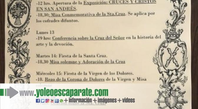 Celebración de la Semana de la Cruz en Calahorra