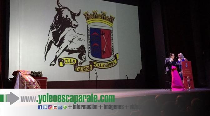 Galardón para el Club taurino de Calahorra en la Gala de los V Premios Toros con El Soro
