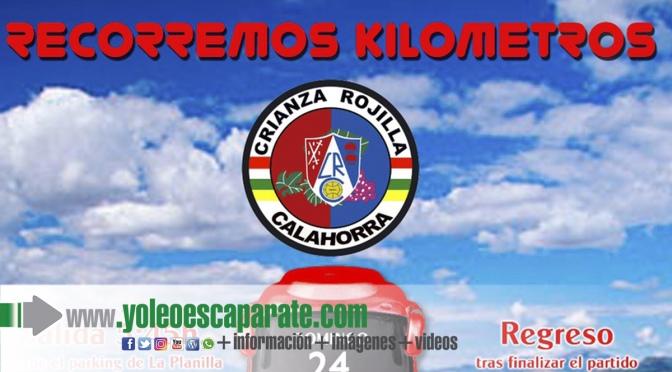 Recorremos Kilómetros destino Zamora para apoya al CD Calahorra
