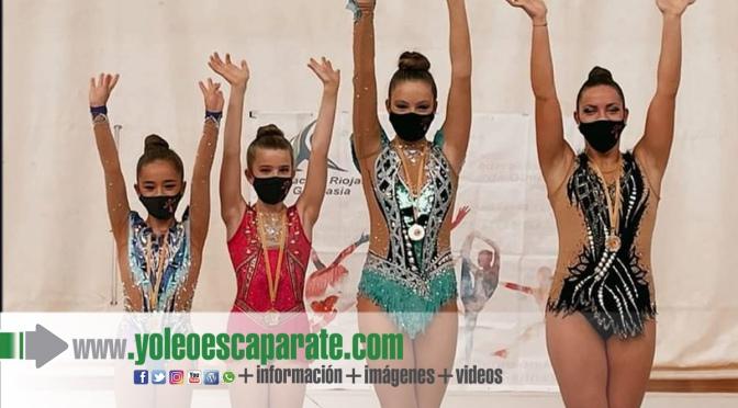 Las gimnastas del CD Active pasan con nota a la Copa de la Reina