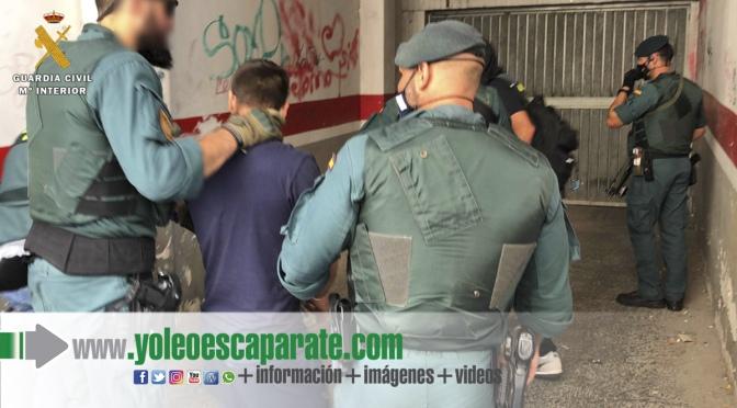 La Guardia Civil desarticula una organización criminal, asentada en Navarra y La Rioja, altamente especializada en la introducción de speed