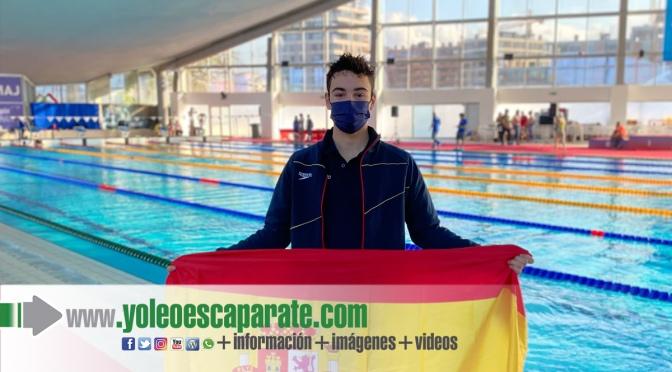 Buenos resultados para el nadador de Aldeanueva de Ebro, Iván Martínez Sota, en Serbia