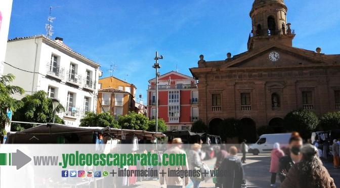 """El mercadillo tradicional de los """"Jueves"""" vuelve a las calles del Casco Antiguo a partir del 7 de octubre"""